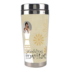 Wedding By Paula Green   Stainless Steel Travel Tumbler   1trtrv0g48nx   Www Artscow Com Center