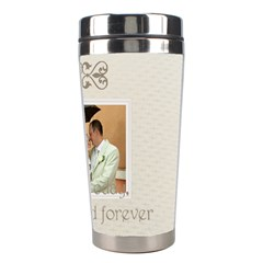 Wedding By Paula Green   Stainless Steel Travel Tumbler   Qakg007gczxa   Www Artscow Com Right