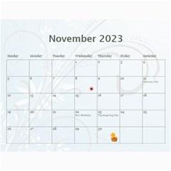 2015 Simply Blue Calendar By Kim Blair   Wall Calendar 11  X 8 5  (12 Months)   Ctiiofhgalpg   Www Artscow Com Nov 2015