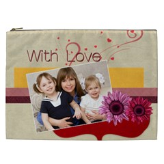 Love By Joely   Cosmetic Bag (xxl)   Msjrt4hjgg42   Www Artscow Com Front