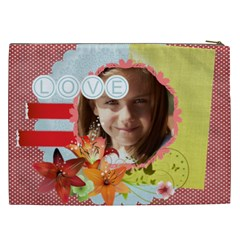 Love By Joely   Cosmetic Bag (xxl)   0w47ez97m7pj   Www Artscow Com Back