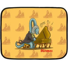 Bachiosaurus Mini Fleece Blanket (single Sided) by Contest1732250