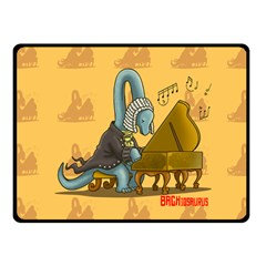 BACHiosaurus Fleece Blanket (Small) by Contest1732250