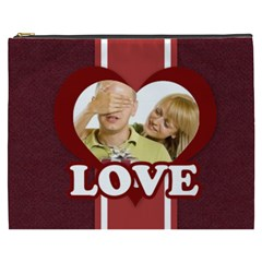 Love By May   Cosmetic Bag (xxxl)   H1yrxyjx5bpv   Www Artscow Com Front