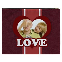 Love By May   Cosmetic Bag (xxxl)   H1yrxyjx5bpv   Www Artscow Com Back
