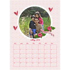 2014 By Thaneenard   Desktop Calendar 6  X 8 5    Luh984ohrlvr   Www Artscow Com May 2014