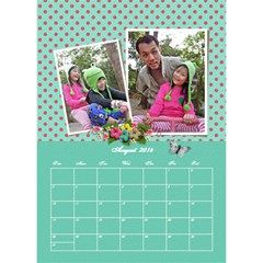 2014 By Thaneenard   Desktop Calendar 6  X 8 5    Luh984ohrlvr   Www Artscow Com Aug 2014