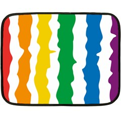 Rainbow Cake Mini Fleece Blanket (single Sided) by Contest1753604