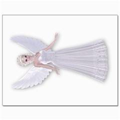 White Fairy Canvas 11  X 14  (unframed) by goldenjackal
