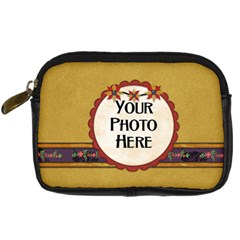 Gypsy Fall Camera Case By Lisa Minor   Digital Camera Leather Case   6vbb6u3epebq   Www Artscow Com Front