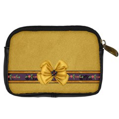 Gypsy Fall Camera Case By Lisa Minor   Digital Camera Leather Case   6vbb6u3epebq   Www Artscow Com Back