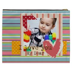 Kids By Kids   Cosmetic Bag (xxxl)   Ncni2zuv9nq4   Www Artscow Com Back