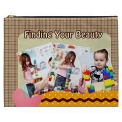 Kids By Kids   Cosmetic Bag (xxxl)   Pmgghl7wzcsx   Www Artscow Com Front