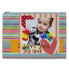 Kids By Kids   Cosmetic Bag (xxl)   Yojtd2lolrac   Www Artscow Com Front