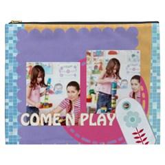Kids By Kids   Cosmetic Bag (xxxl)   O811m4lpqw3s   Www Artscow Com Front