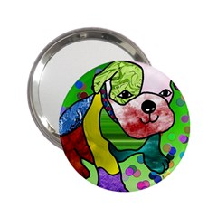 Pug Handbag Mirror (2.25 ) by Siebenhuehner