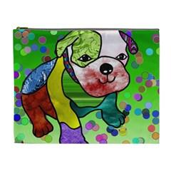 Pug Cosmetic Bag (xl) by Siebenhuehner
