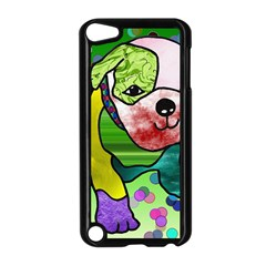 Pug Apple Ipod Touch 5 Case (black)