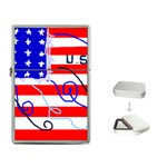 MEAH USA FLAG Flip Top Lighter
