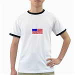 MEAH USA FLAG Ringer T