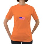 MEAH USA FLAG Women s Dark T-Shirt