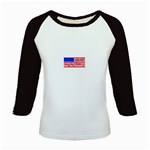 MEAH USA FLAG Kids Baseball Jersey