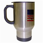 MEAH USA FLAG Travel Mug (Silver Gray)