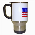 MEAH USA FLAG Travel Mug (White)