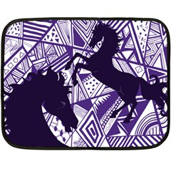 Year Of The Horse Mini Fleece Blanket (single Sided) by Contest1732250