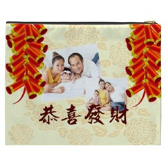Chinese New Year By Ch   Cosmetic Bag (xxxl)   61qe0boxuty5   Www Artscow Com Back