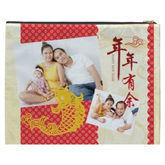 Chinese New Year By Ch   Cosmetic Bag (xxxl)   0uyvcuonckfh   Www Artscow Com Back