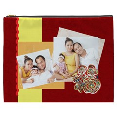 Chinese New Year By Ch   Cosmetic Bag (xxxl)   5w17xou22jz5   Www Artscow Com Front