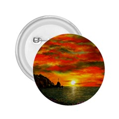 Alyssa s Sunset By Ave Hurley Artrevu   2 25  Button by ArtRave2