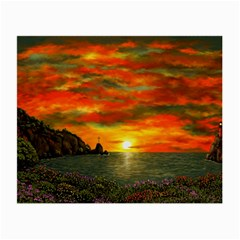 Alyssa s Sunset By Ave Hurley Artrevu   Small Glasses Cloth by ArtRave2
