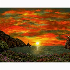 Alyssa s Sunset By Ave Hurley Artrevu   Canvas 20  X 24  by ArtRave2