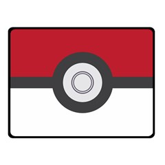Pokeball Blanket Fleece Blanket (Small) by Contest1630545