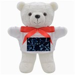 AFRICAN PRINT BLUE WAX Teddy Bear