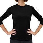 Women s Long Sleeve Dark T-Shirt