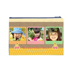 Kids By Kids   Cosmetic Bag (large)   Ilgb7v19ssqs   Www Artscow Com Back