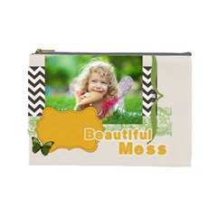 Kids By Kids   Cosmetic Bag (large)   4b4x01xox4p0   Www Artscow Com Front
