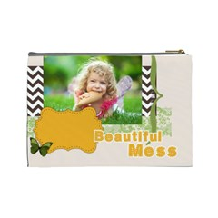 Kids By Kids   Cosmetic Bag (large)   4b4x01xox4p0   Www Artscow Com Back