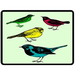 Song Birds Fleece Blanket (Extra Large) by Contest1615313