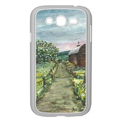 amish Apple Blossoms  By Ave Hurley Of Artrevu   Samsung Galaxy Grand Duos I9082 Case (white)
