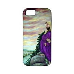Jesus Overlooking Jerusalem   Ave Hurley   Artrave   Apple Iphone 5 Classic Hardshell Case (pc+silicone) by ArtRave2