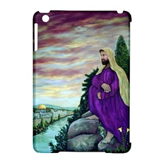 Jesus Overlooking Jerusalem - Ave Hurley - ArtRave - Apple iPad Mini Hardshell Case (Compatible with Smart Cover) by ArtRave2