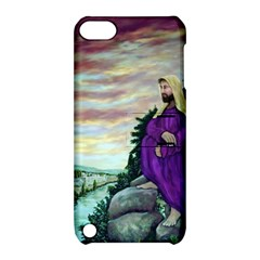 Jesus Overlooking Jerusalem   Ave Hurley   Artrave   Apple Ipod Touch 5 Hardshell Case With Stand by ArtRave2