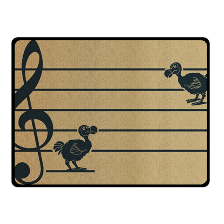 Octave dodos Fleece Blanket (Small)