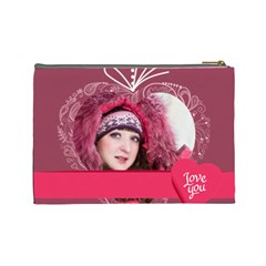 Love By Ki Ki   Cosmetic Bag (large)   Rda2fd5ahy79   Www Artscow Com Back