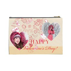 Love By Ki Ki   Cosmetic Bag (large)   6y1ty2v9as7i   Www Artscow Com Back
