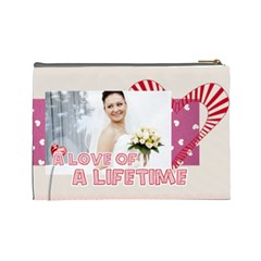Love By Ki Ki   Cosmetic Bag (large)   Ddm2x6itr302   Www Artscow Com Back